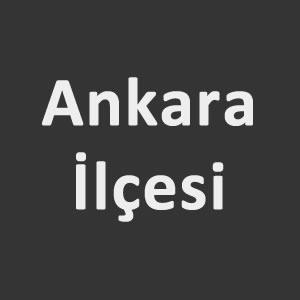 Bulmacada Ankara ilçesi nedir